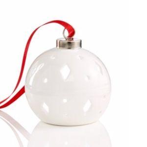 Holiday Lane LED Light-Up Diamond Pattern Ornament